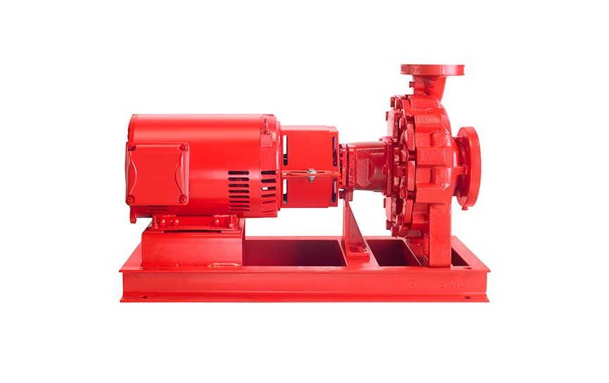 4030 End suction Base mounted pumps SideView