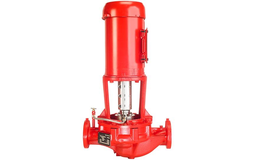 Copy of 4300 Vertical InLine VIL pumps FrontView